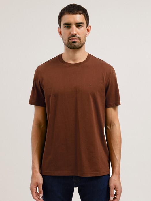 ARMEDANGELS T-Shirts Aado [dark camel] XL jetzt im Onlineshop von zündstoff bestellen