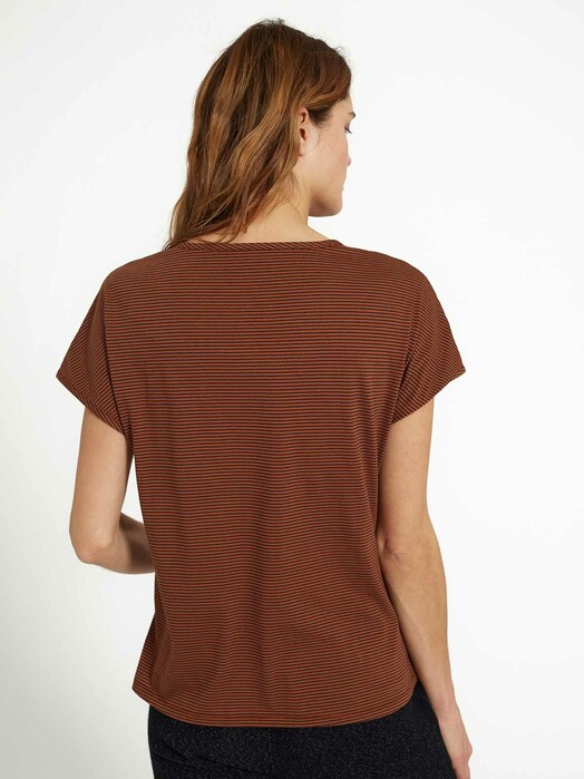 recolution  T-Shirts T-Shirt Musella [dark orange/black] jetzt im Onlineshop von zündstoff bestellen