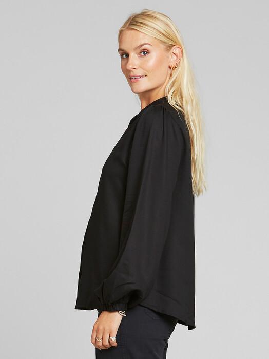 Dedicated Blusen Lycka [black] jetzt im Onlineshop von zündstoff bestellen