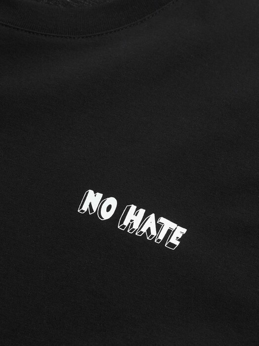 recolution  T-Shirts No Hate Männer T-Shirt [black] S jetzt im Onlineshop von zündstoff bestellen