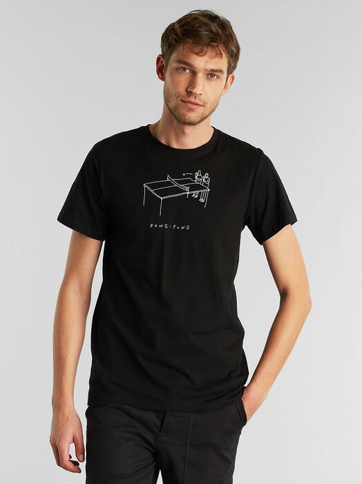 Dedicated T-Shirts Stockholm Pong Pong [black] jetzt im Onlineshop von zündstoff bestellen