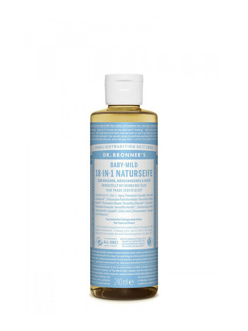 Dr. Bronner's Liquid Soap Baby-Mild 240ml