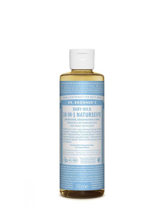 Dr. Bronner's Kosmetik Liquid Soap Baby-Mild 240ml jetzt im Onlineshop von zündstoff bestellen