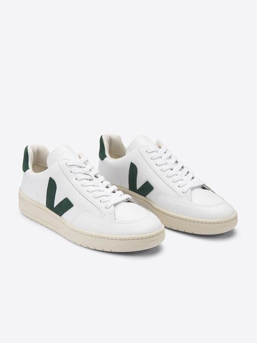 Veja Schuhe V-12 Leather [extra-white cyprus] jetzt im Onlineshop von zündstoff bestellen