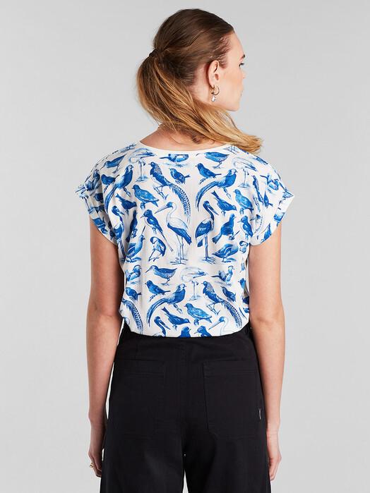 Dedicated T-Shirts Visby Blue Birds [off-white] jetzt im Onlineshop von zündstoff bestellen