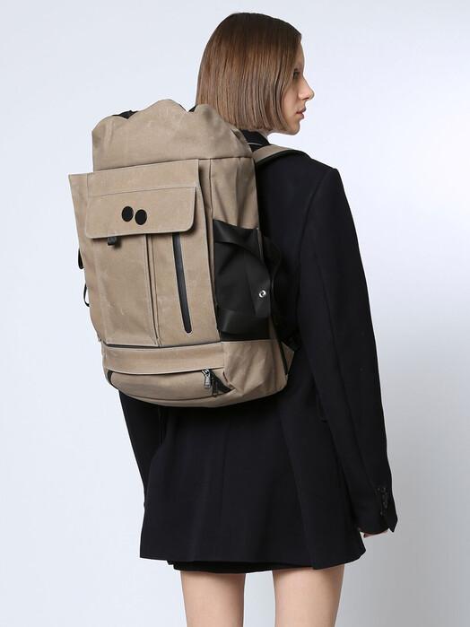 pinqponq Rucksäcke & Taschen Blok Medium Coated [khaki] One Size jetzt im Onlineshop von zündstoff bestellen