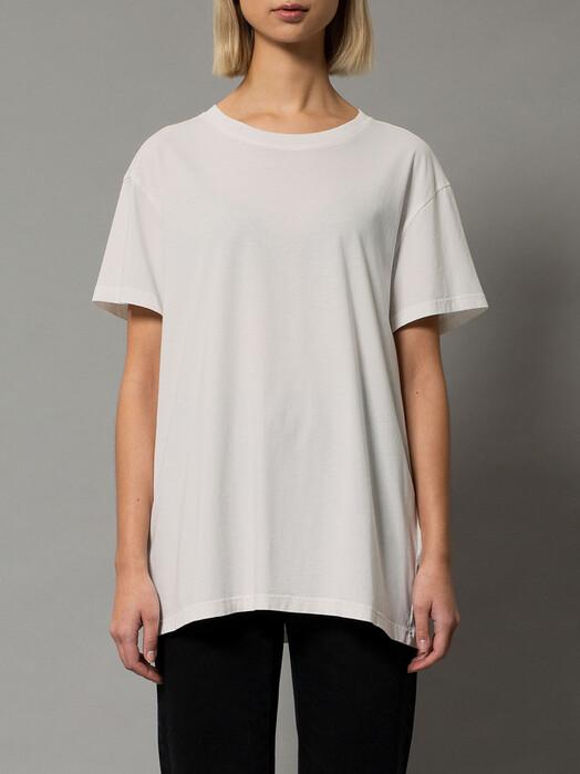 nudie Jeans T-Shirts Tina Oversized Tee [offwhite] jetzt im Onlineshop von zündstoff bestellen