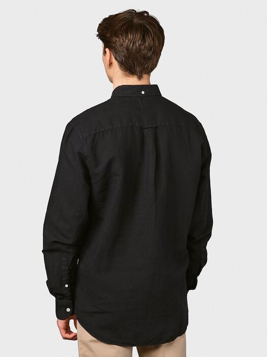 Klitmøller Collective Hemden & Polos Benjamin Linen [black] jetzt im Onlineshop von zündstoff bestellen
