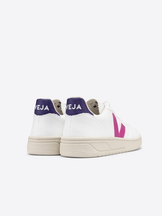 Veja Schuhe  V-10 Vegan CWL [white ultraviolet purple] jetzt im Onlineshop von zündstoff bestellen