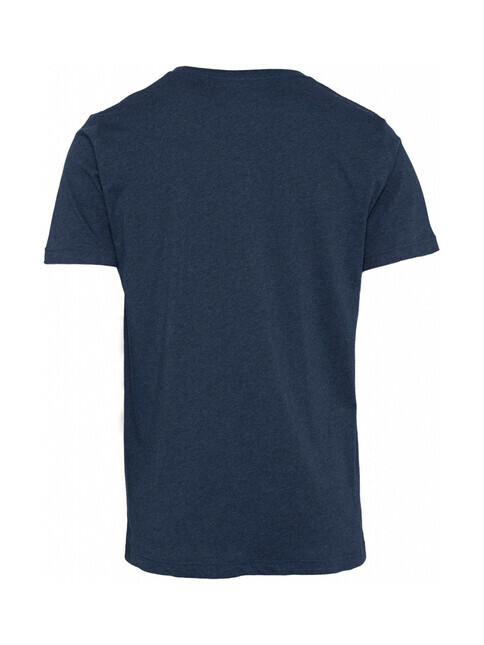 Knowledge Cotton Apparel  Basic Fit O-Neck [insignia blue melange]