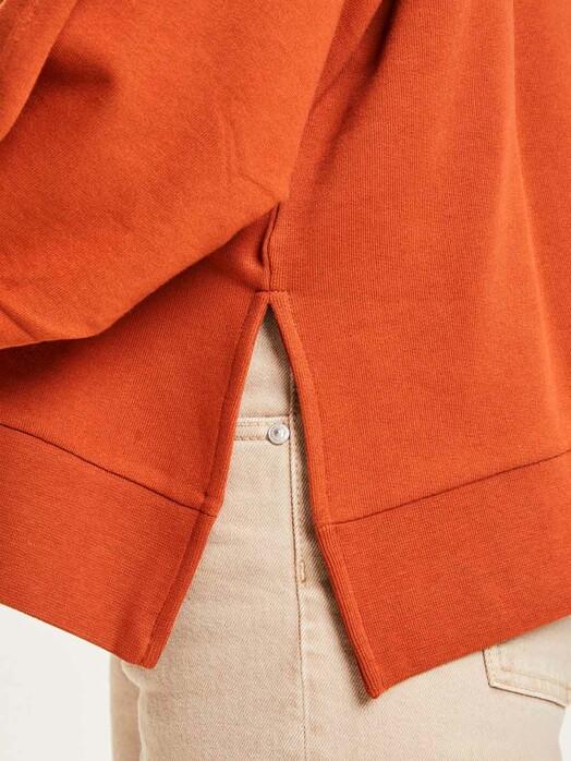 Knowledge Cotton Apparel  Sweatshirts Erica A-Shape Sweat [arabian spice] jetzt im Onlineshop von zündstoff bestellen