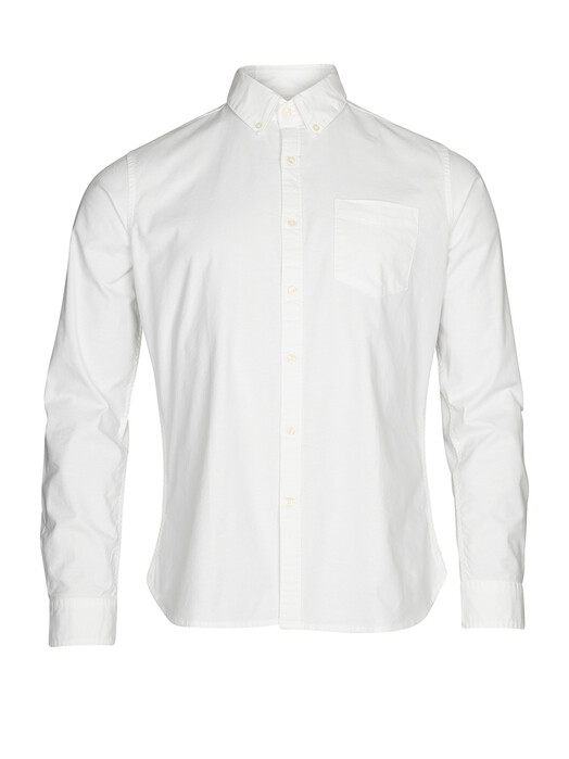Hemden & Polos - Stretched Oxford Shirt [bright white] 1