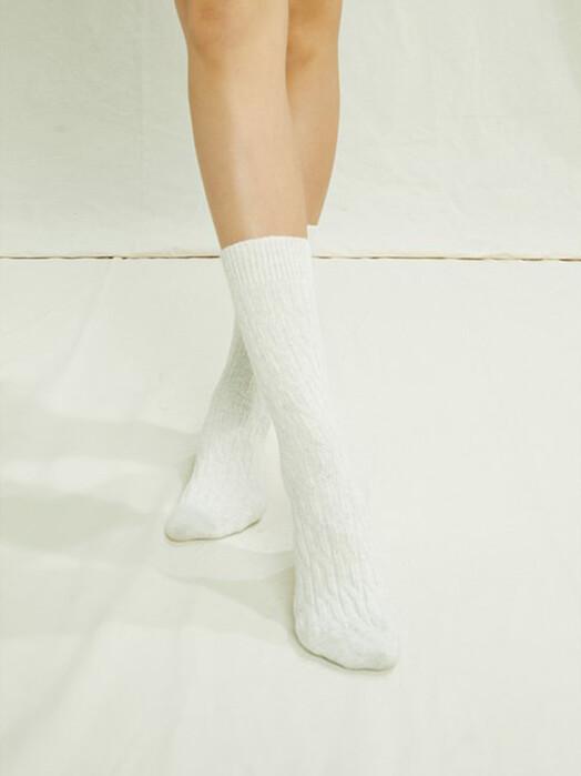 People Tree  Socken  Cable Socks [creme] jetzt im Onlineshop von zündstoff bestellen