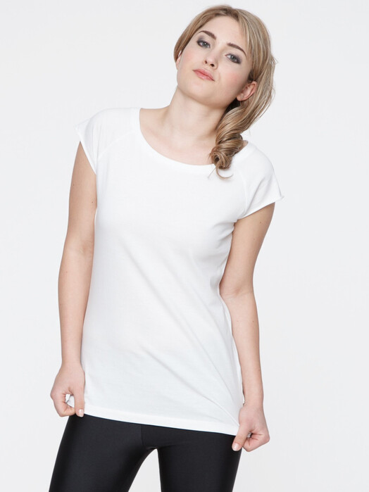 T-Shirts - Women's Cap Sleeve T-Shirt [white] 3