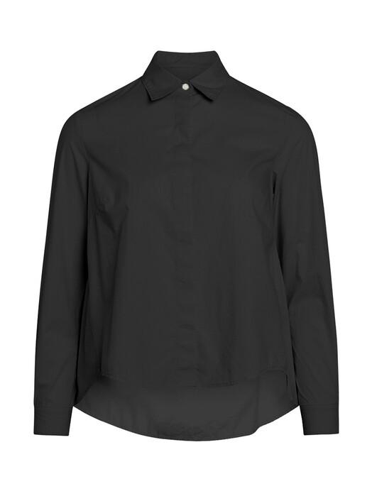 Knowledge Cotton Apparel  Blusen Jacinta [black jet] jetzt im Onlineshop von zündstoff bestellen