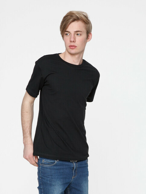 ThokkThokk  Men's Blank T-Shirt [black]