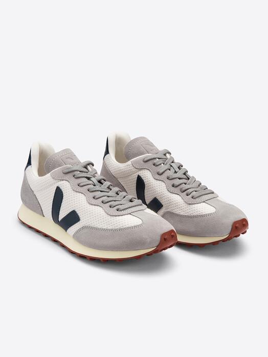 Veja Schuhe Rio Branco Hexamesh [gravel nautico oxford-grey] jetzt im Onlineshop von zündstoff bestellen