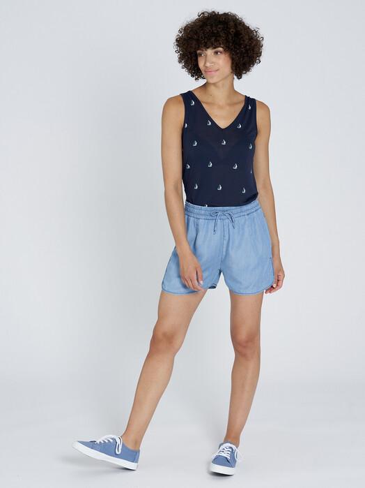 recolution  Shorts Tencel Shorts [light denim blue] jetzt im Onlineshop von zündstoff bestellen