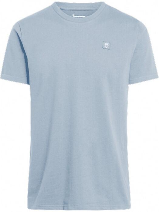 Knowledge Cotton Apparel  T-Shirts Alder Badge Tee [asley blue] S jetzt im Onlineshop von zündstoff bestellen
