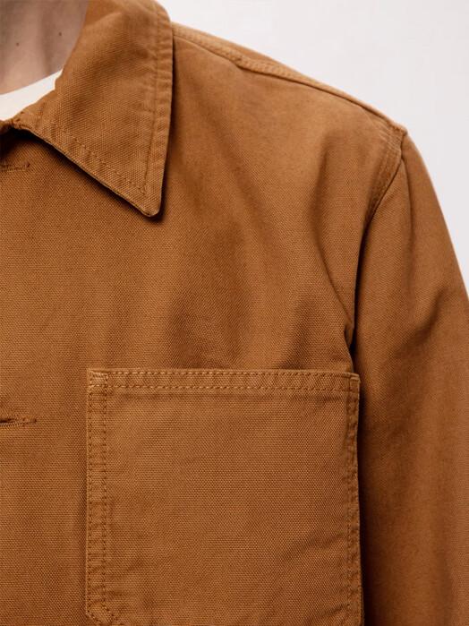 nudie Jeans Jacken & Mäntel Barney Canvas [cinnamon] jetzt im Onlineshop von zündstoff bestellen