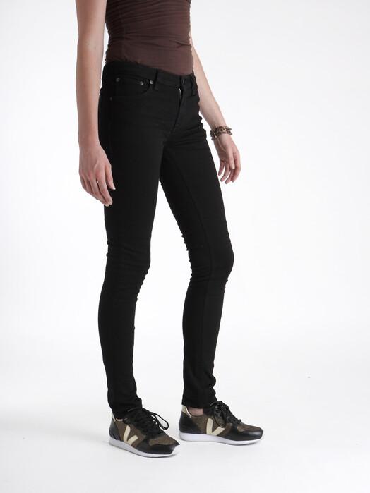 nudie Jeans Jeans Skinny Lin [black black] 31, 30 jetzt im Onlineshop von zündstoff bestellen