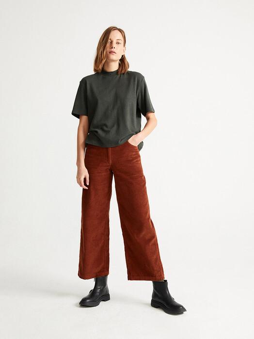 Thinking MU T-Shirts Hemp Aidin T-Shirt [dark green] jetzt im Onlineshop von zündstoff bestellen