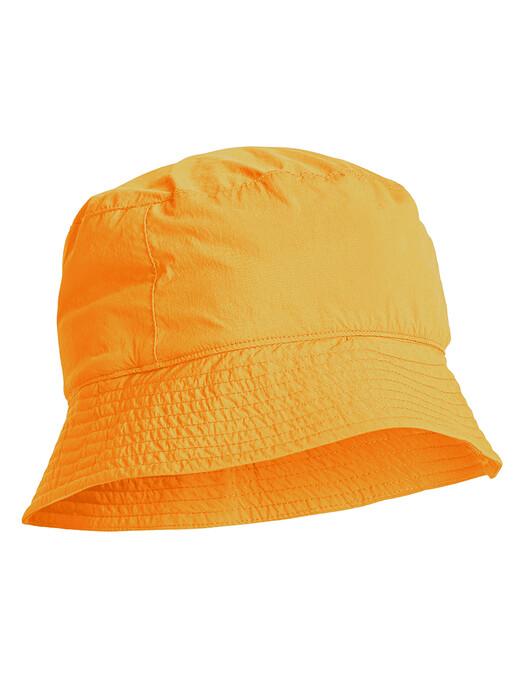 Knowledge Cotton Apparel  Mützen Leaf Jungle Hat [zennia yellow] One Size jetzt im Onlineshop von zündstoff bestellen