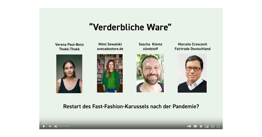 Verderbliche Ware Videotalk mit Fairtrade Deutschland