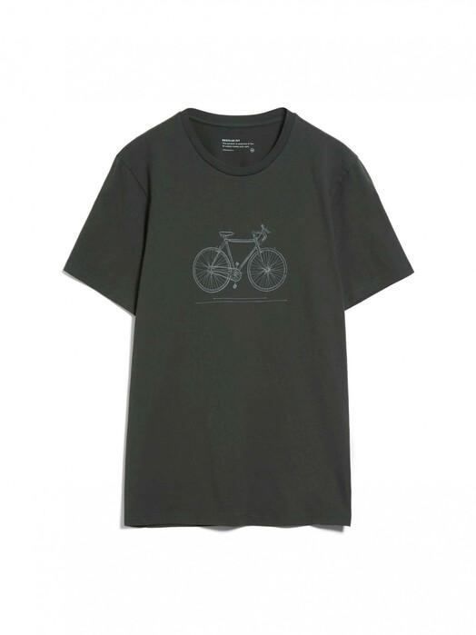 ARMEDANGELS T-Shirts Jaames Tech Bike [dark pine] L jetzt im Onlineshop von zündstoff bestellen