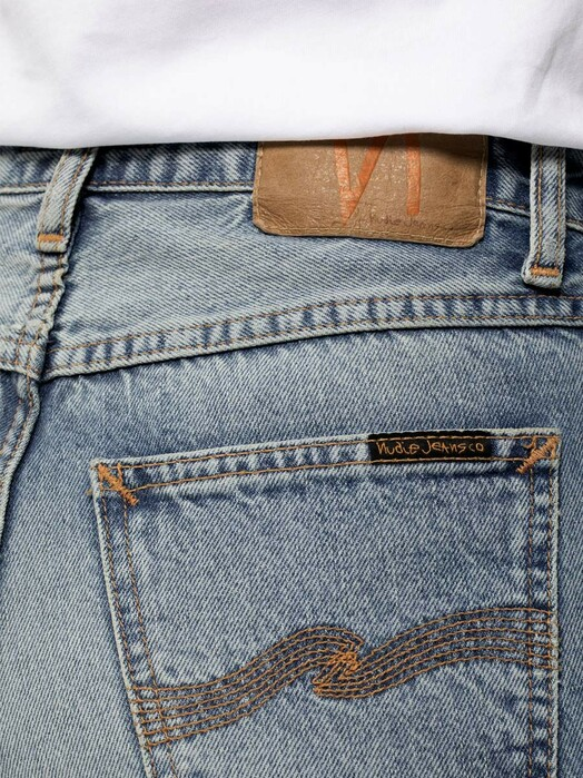 nudie Jeans Jeans Breezy Britt [light depot] jetzt im Onlineshop von zündstoff bestellen