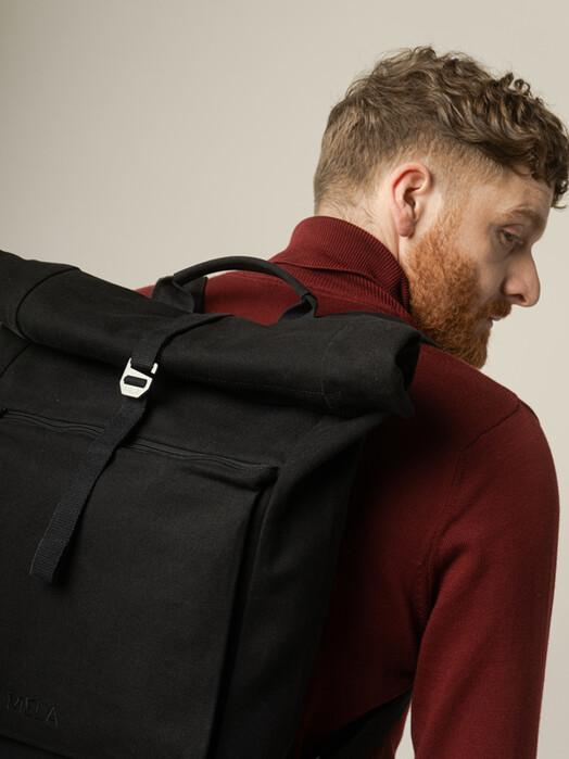 melawear Rucksäcke & Taschen Amar [all black] One Size jetzt im Onlineshop von zündstoff bestellen