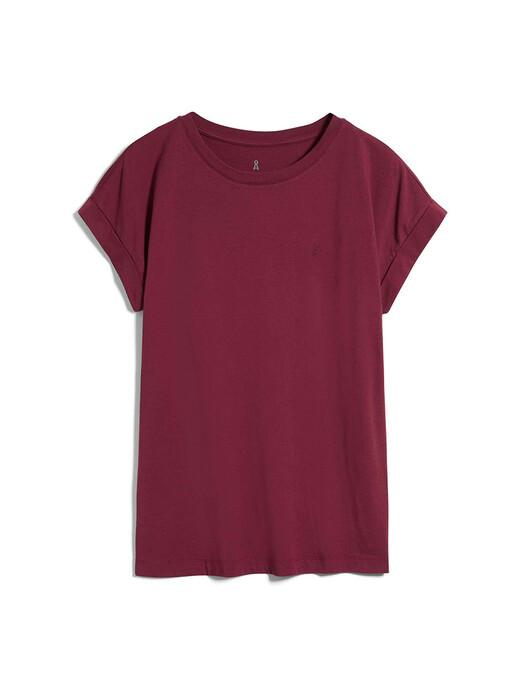ARMEDANGELS T-Shirts Idaa [ruby red] jetzt im Onlineshop von zündstoff bestellen