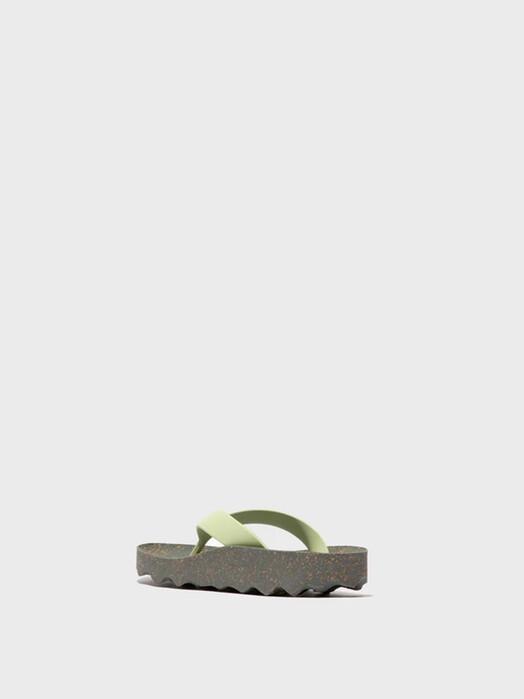 Asportuguesas Schuhe Feel Flip Flops [grey/mint] jetzt im Onlineshop von zündstoff bestellen