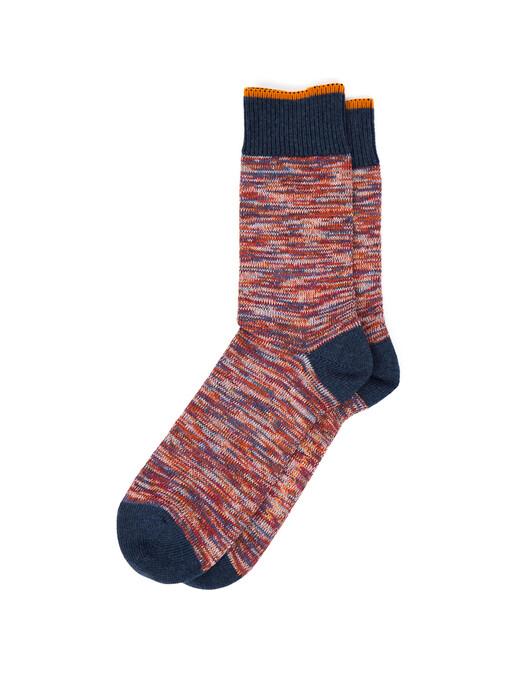 nudie Jeans Socken  Rasmusson Multi Yarn Socks [red] One Size jetzt im Onlineshop von zündstoff bestellen