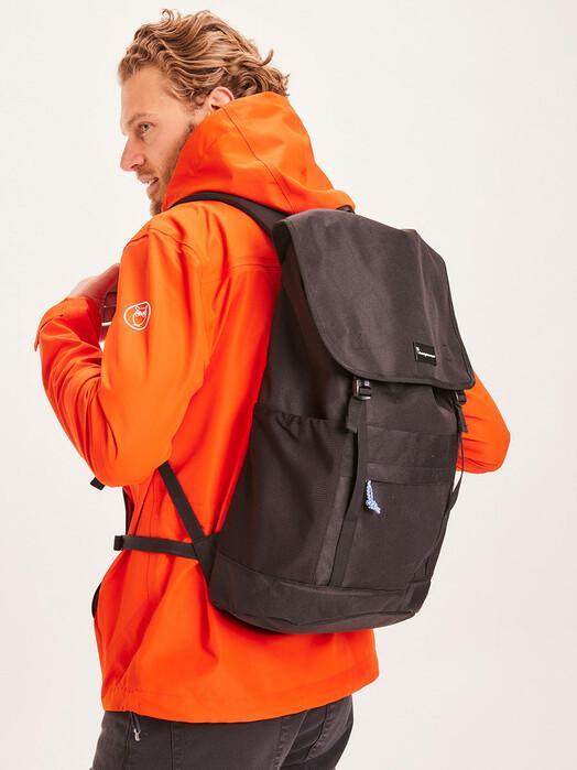 Knowledge Cotton Apparel  Rucksäcke & Taschen Classic Backpack [black jet] One Size jetzt im Onlineshop von zündstoff bestellen