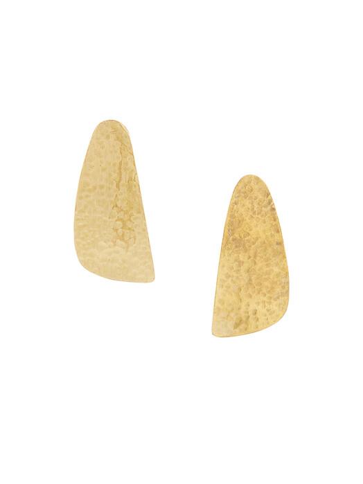 People Tree  Schmuck Wing Stud Earrings [brass] One Size jetzt im Onlineshop von zündstoff bestellen