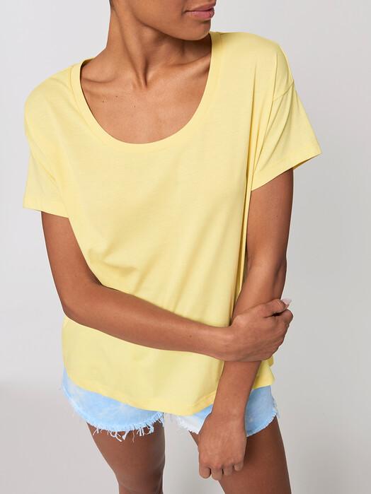 zündstoff.basics T-Shirts Charlotte [diverse Farben] L, yellow mist jetzt im Onlineshop von zündstoff bestellen