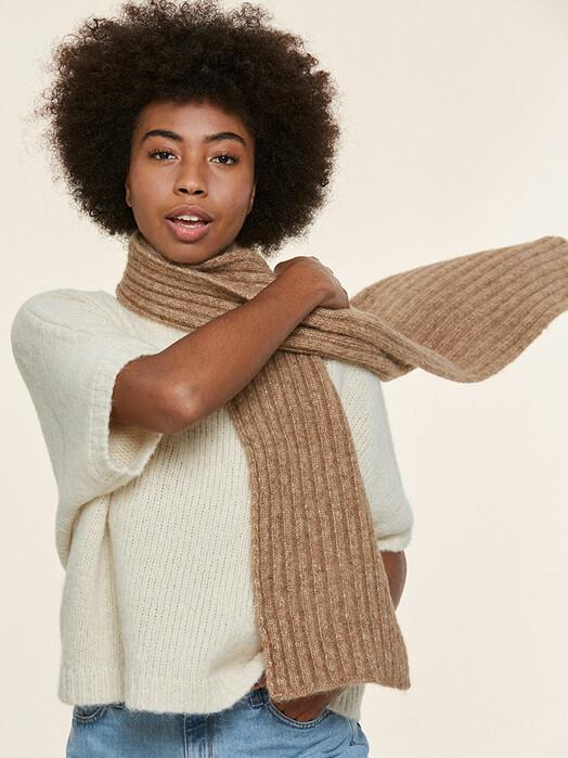 Les Racines du Ciel Schals & Tücher Lichen Rib Scarf [a-beige] One Size jetzt im Onlineshop von zündstoff bestellen