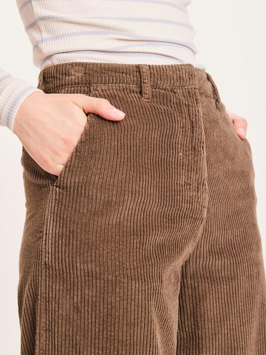 Knowledge Cotton Apparel  Hosen Posey Heavy Corduroy Pants [forrest night] XL jetzt im Onlineshop von zündstoff bestellen