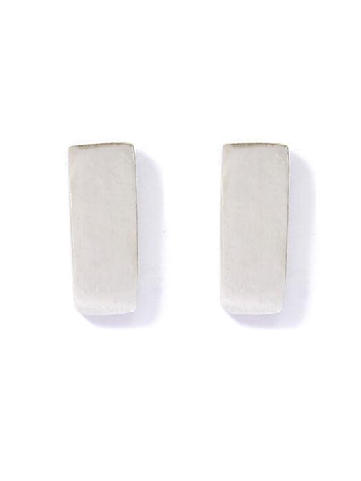 People Tree  Schmuck Short Bar Earrings [silver] One Size jetzt im Onlineshop von zündstoff bestellen