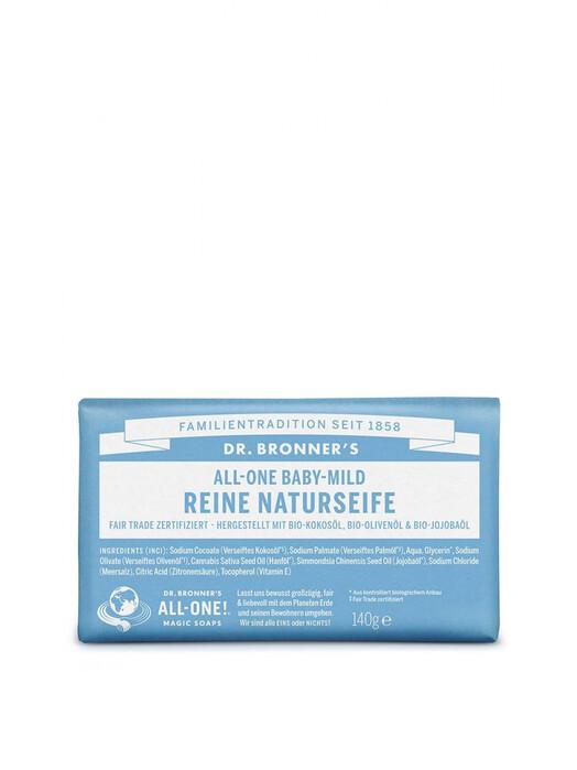 Dr. Bronner's Kosmetik Barsoap Baby-Mild jetzt im Onlineshop von zündstoff bestellen
