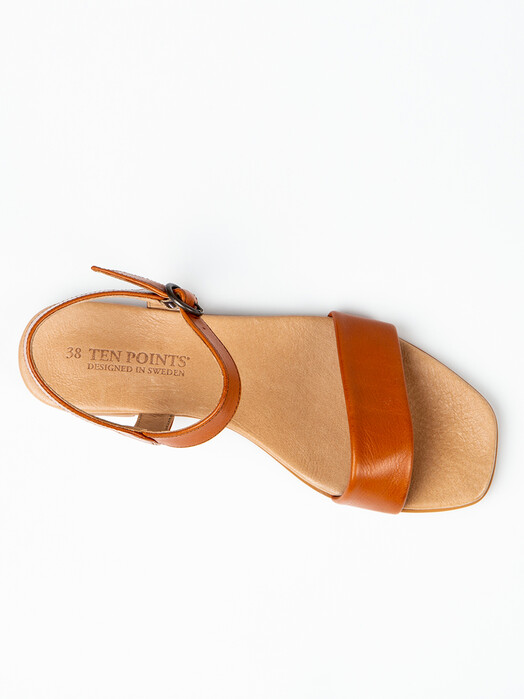 Ten Points Schuhe  Madeleine [cognac] jetzt im Onlineshop von zündstoff bestellen