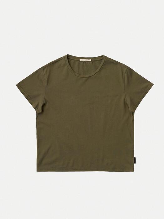nudie Jeans T-Shirts Lisa Tee [army] jetzt im Onlineshop von zündstoff bestellen
