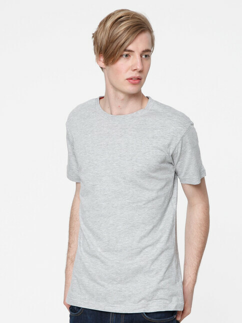 ThokkThokk  Men's Blank T-Shirt [melange grey]