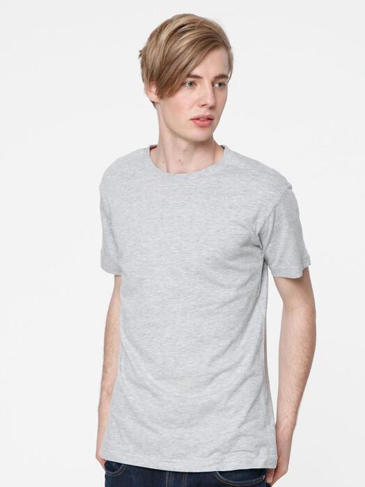 ThokkThokk  T-Shirts Men's Blank T-Shirt [melange grey] jetzt im Onlineshop von zündstoff bestellen