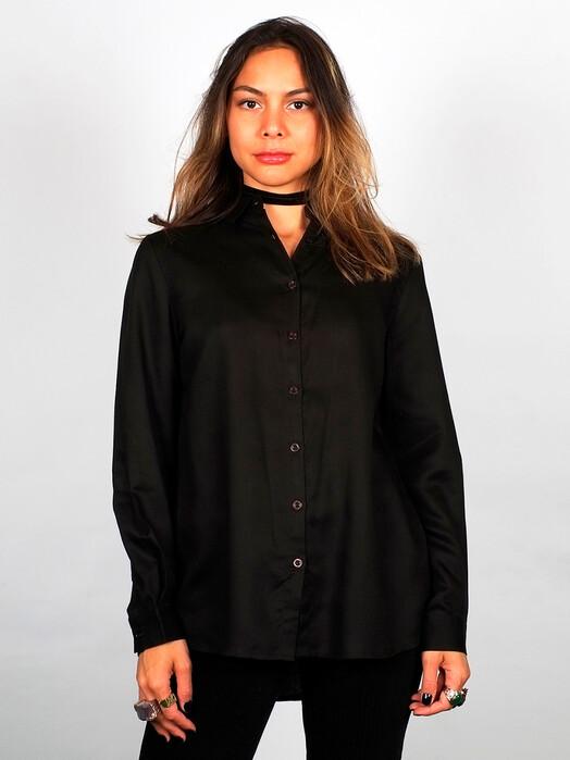 Dedicated Blusen Dorothea [black] XS jetzt im Onlineshop von zündstoff bestellen