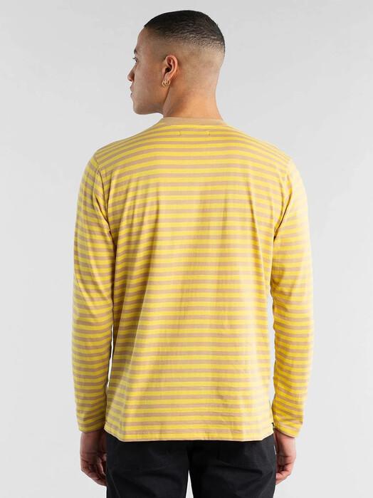 Dedicated Longsleeves Hasle Stripes [yellow] jetzt im Onlineshop von zündstoff bestellen