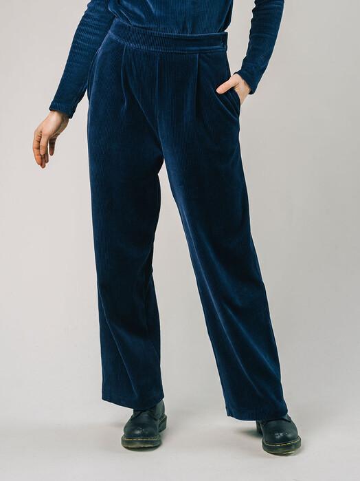 Brava Fabrics Hosen Corduroy Oversized Pants [navy] jetzt im Onlineshop von zündstoff bestellen