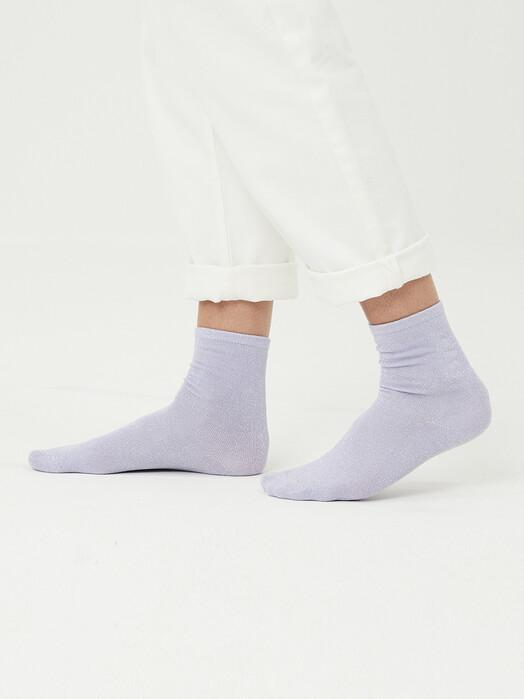 Knowledge Cotton Apparel  Socken  Honey Glitter Socks [pastel lilac] jetzt im Onlineshop von zündstoff bestellen