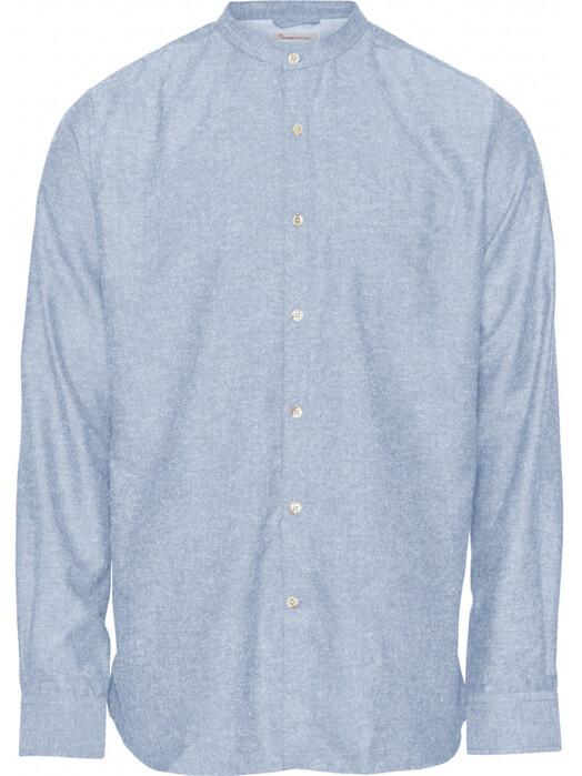 Knowledge Cotton Apparel  Hemden & Polos Larch LS Linen Shirt [skyway] S jetzt im Onlineshop von zündstoff bestellen